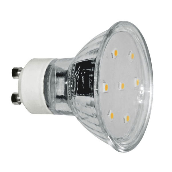 ����� led GU10 3W 230V 3000k ����� ����� ��� ������ 105� 250 lumen Ø50mm